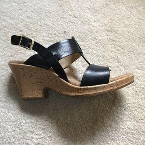 Black sandals Clarks